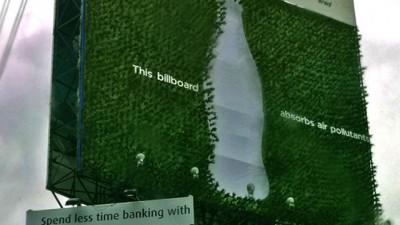 Coca-Cola / WWF - Plant Billboard