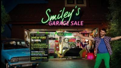 Cosmote – Garajul lui Smiley (website - homepage)