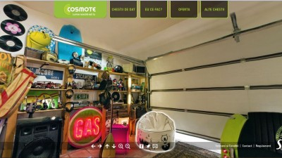 Cosmote – Garajul lui Smiley (website - sectiune)