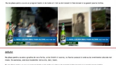 Golden Brau Fara Alcool - Vezi mai clar (banner)