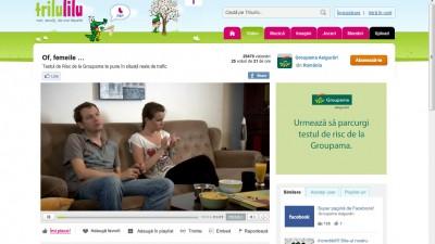 Groupama - Testul de risc I (video interactiv)
