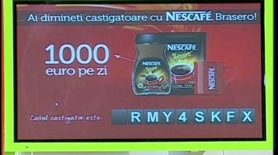 Nescafe Brasero – Ai dimineti castigatoare cu NESCAFE (lansare 'Neata cu Razvan si Dani')