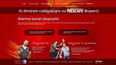 Nescafe Brasero – Alarma bunei dispozitii