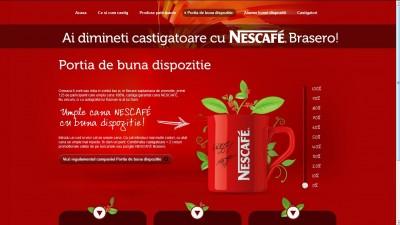 Nescafe Brasero – Portia de buna dispozitie