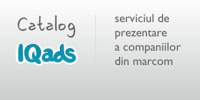 IQads anunta lansarea unei noi versiuni a serviciului de prezentare a companiilor din marcom - Catalogul IQads