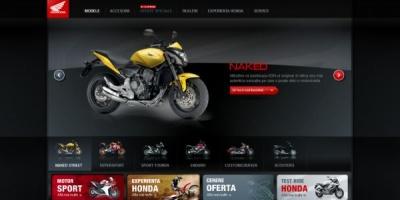 Infinit Solutions a creat identitatea online si a dezvoltat si implementat strategia pentru proiectul www.honda-moto.ro