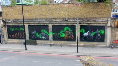 20th Century Fox - The Rise of the Planet of the Apes (Londra)