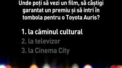 Cinema City - Intrebare