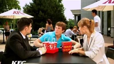 KFC - Snack Box si Pepsi gratis