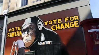 Making of 20th Century Fox - The Rise of the Planet of the Apes (Glasgow)