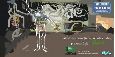 [UPDATE] Atelierele IQads Kadett - pentru cei care doresc sa experimenteze industria de publicitate