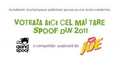 """Lucrarile """"Grand Spoof"""" inscrise la editia 2011 asteapta sa fie votate"""