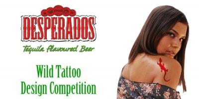 Au inceput inscrierile la Desperados Wild Tattoo Design Competition