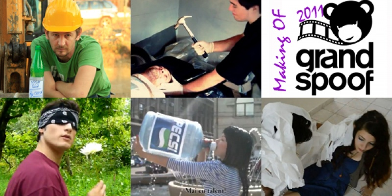 Making Of Grand Spoof 2011: povesti, bloopers si deleted scenes