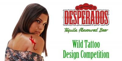 Ultimele doua zile de inscrieri la Desperados Wild Tattoo Design Competition