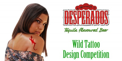 S-a dat startul votului la Desperados Wild Tattoo Design Competition