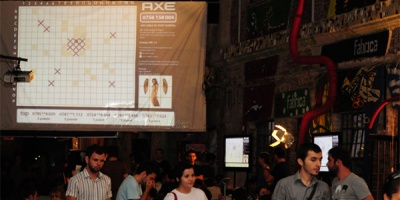 "AXE a invitat participantii de la ADfel sa joace ""Gaseste ingerii"" prin SMS"
