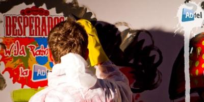 In spiritul Desperados, la ADfel 2011 se experimenteaza Wild Painting si se aplica Wild Tattoos