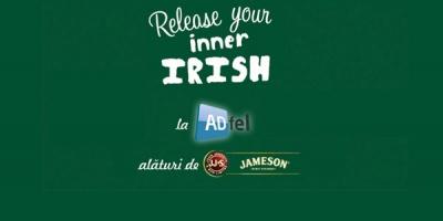 La ADfel, Jameson te invită să descoperi irlandezul din tine, într-un mod neconvenţional