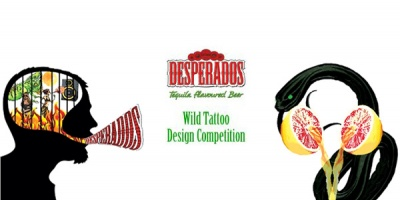 """Mind trick"" si ""Lemon Headphones"" castiga Desperados Wild Tattoo Design Competiton"