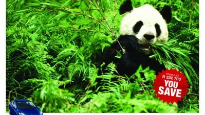 Toyota Prius - You Save the Pandas