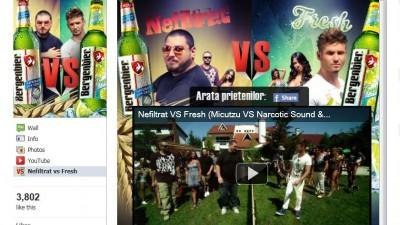 Aplicatie de Facebook: Bergenbier Nefiltrat vs. Fresh 1
