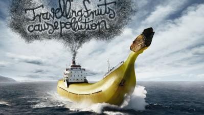 Bund - Travelling fruits, banana