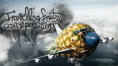 Bund - Travelling fruits, pineapple