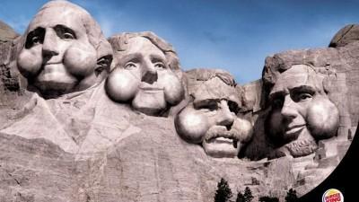 Burger King - Mount Rushmore