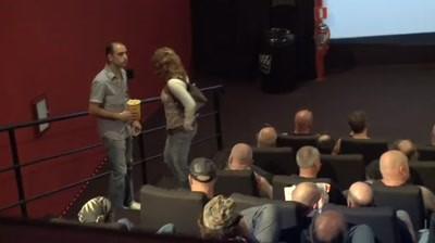 Carlsberg - Stunts with bikers in cinema