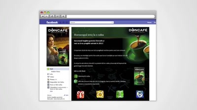 Case Study: Doncafe - Horoscop 2011