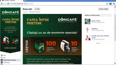 Doncafe - Facebook fan page