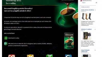Doncafe - Horoscop la o cafea (start)