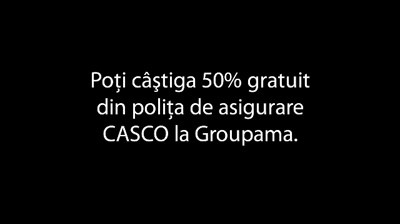 Groupama - Testul de risc (video interactiv - demo)