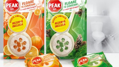 Peak - Package design floare de curatenie