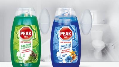 Peak - Package design parfum de curatenie