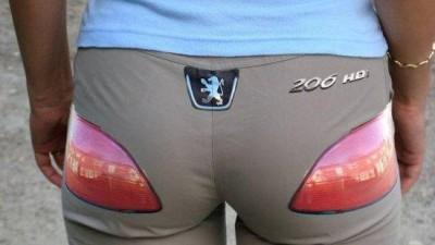Peugeot 206 - Pants
