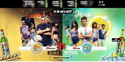 "Pagina oficiala de Facebook Bergenbier Romania, lansata de iLeo prin aplicatia ""Nefiltrat vs. Fresh"""