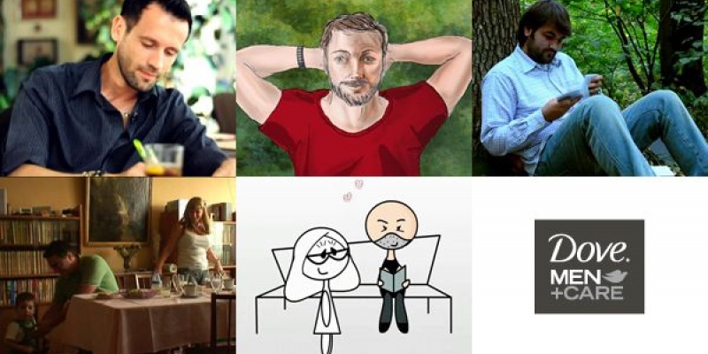 Povestile de viata ale barbatilor pana la 40 de ani, stranse de Dove Men+Care la Brand Film Festival