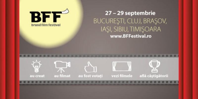 Brand Film Festival aduce povestile de brand spuse de consumatori in 6 orase din tara, intre 27 si 29 septembrie