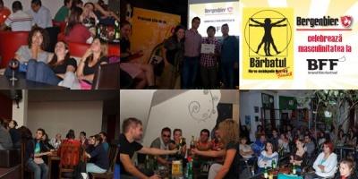 In prima seara Brand Film Festival, Bergenbier a celebrat masculinitatea, prin proiectii simultane, in 6 orase din tara