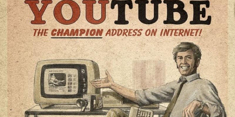 Printuri vintage pentru Facebook, Twitter, Youtube si alte jucarii web 2.0