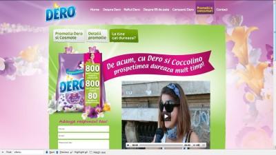 Site: Dero.ro – La tine cat dureaza (promotii)