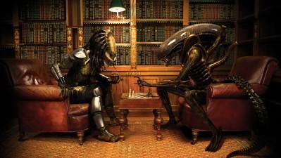 Sky TV - Alien vs. Predator Chess