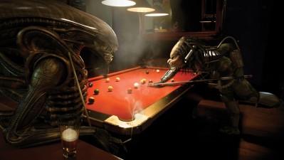 Sky TV - Alien vs Predator Pool
