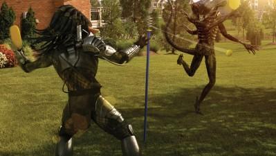 Sky TV - Alien vs. Predator Swingball