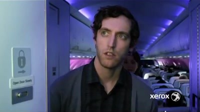 Xerox - Virgin America, Lavatory