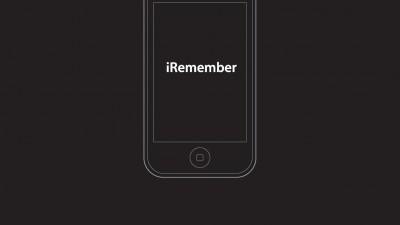 agenta agenturgruppe - iRemember (pentru Steve Jobs)