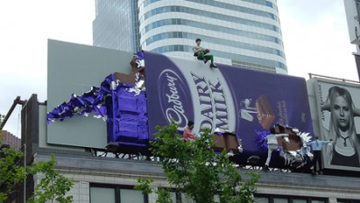Cadbury - Unwrapped in the city