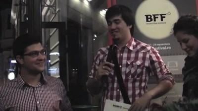 Castigatorii competitiei BFF 2011 – Bergenbier vorbesc despre scurtmetrajele create
